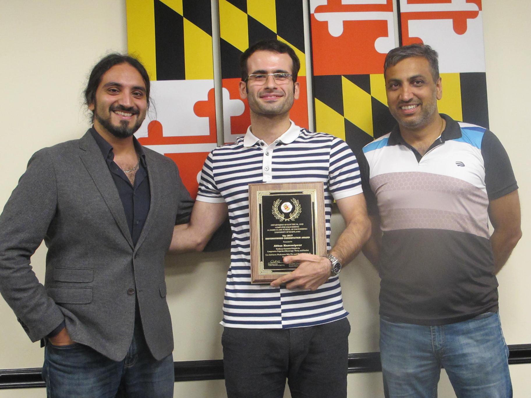 umd distinguished dissertation award